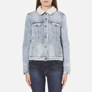 Levi's Women's Vintage Sherpa Trucker Jacket - Blue