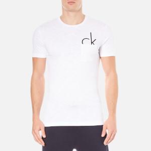 Calvin Klein Men's Type Crew Neck T-Shirt - Bright White