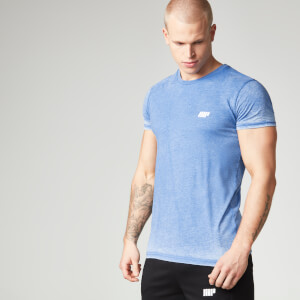 Burnout T-Shirt - Blå