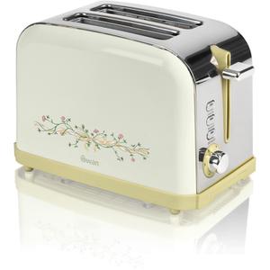 Swan ST15020EBN Eternal Beau 2 Slice Toaster - Cream