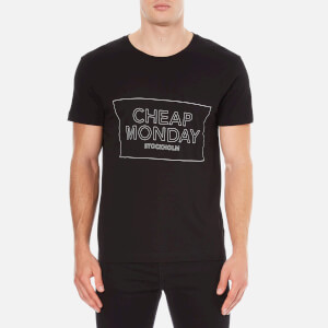 Cheap Monday Men's Standard Thin Box T-Shirt - Black