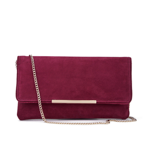 Dune Women's Belma Clutch Bag - Berry