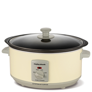 Morphy Richards Slow Cooker 3.5L - Cream