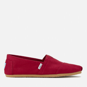 TOMS Men's Core Classics Slip-On Pumps - Red