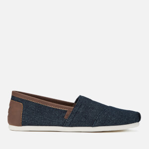 TOMS Men's Alpargata Slip-On Pumps - Dark Denim/Trim