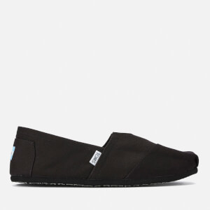 TOMS Men's Core Classics Slip-On Pumps - Black/Black