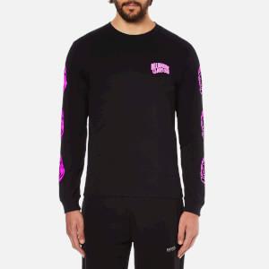 Billionaire Boys Club Men's Helmet Print Long Sleeve T-Shirt - Black