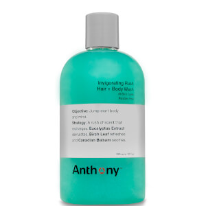Anthony Invigorating Rush Hair & Body Wash 355ml