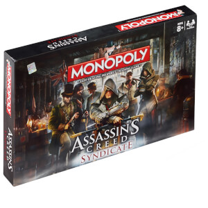 Monopoly Board Game - Assassin's Creed Syndicate Edition