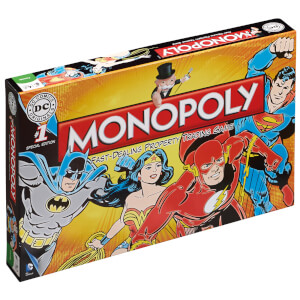 Monopoly Board Game - DC Comics Retro Edition
