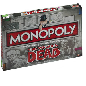 Monopoly Board Game - Walking Dead Edition