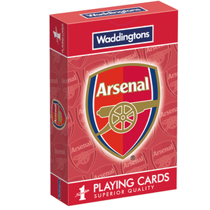 Waddingtons Number 1 Playing Cards - Arsenal F.C Edition