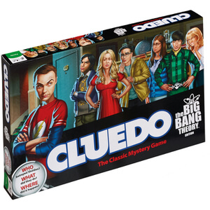 Cluedo Mystery Board Game - The Big Bang Theory Edition