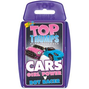 Classic Top Trumps - Girl Power vs. Boys Cars