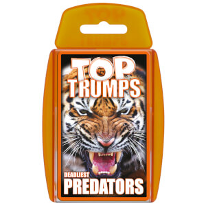 Top Trumps Card Game - Predators Edition