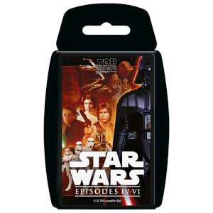 Top Trumps Card Game - Star Wars 4-6 Edition