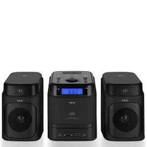 Akai A60002B CD Micro Hi-Fi System - Black