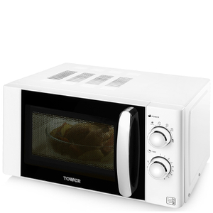 Tower T24009 800W Microwave - White