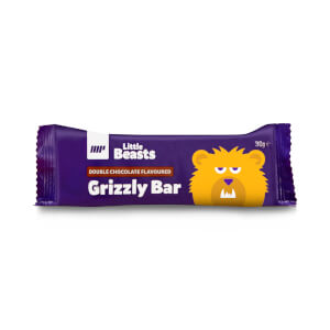 Barre Little Beasts Grizzly - Boîte de 6