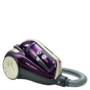 Hoover RU80VE11 Velocity Bagless Pet Cylinder - Purple