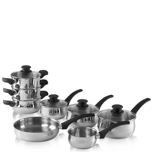 Tower Pan Set - Stainless Steel (8 Piece)