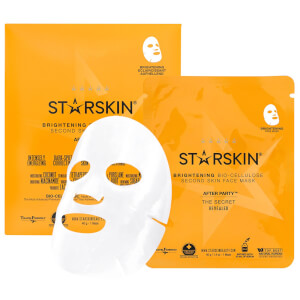 STARSKIN After Party™ maschera viso illuminante seconda pelle in biocellulosa di cocco