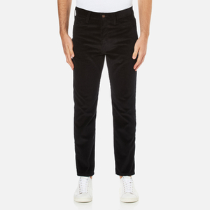 Levi's Vintage Men's 519 Regular Fit Cords Jeans - Black Ink