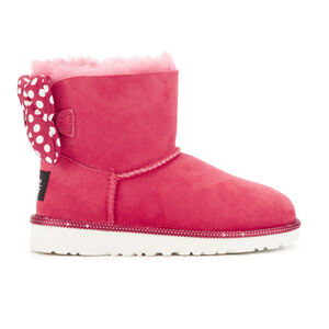 UGG Kids' Sweetie Bow Disney Boots - Red