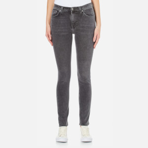 Nudie Jeans Women's Pipe Led Jeans - Grey Marble