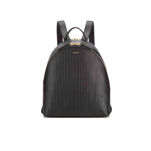 DKNY Women's Gansevoort Pinstripe Backpack - Black