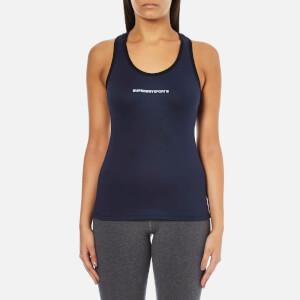 Superdry Women's Core Gym Vest - Rich Navy