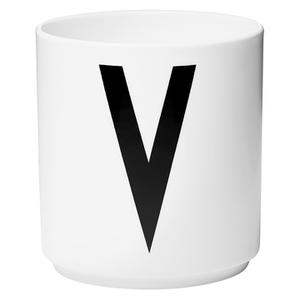 Design Letters Porcelain Cup - V