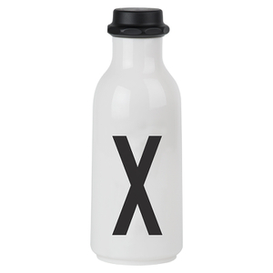 Design Letters Water Bottle - X