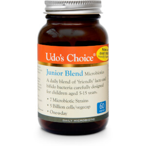 Udo's Choice Junior Blend Microbiotics - 60 Vegecaps: Image 1