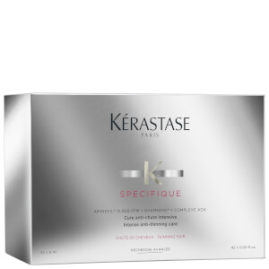 Kérastase Specifique Cure Anti-Chute Treatment -tehohoitoaine oheneville hiuksille 42 x 6ml