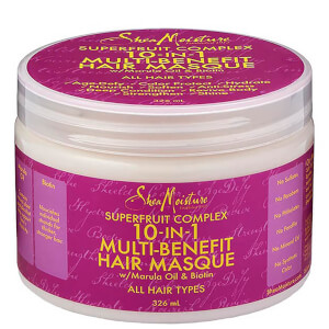 Shea Moisture Superfruit Complex 10 i en Fornyelse System Hair Masque 326 ml