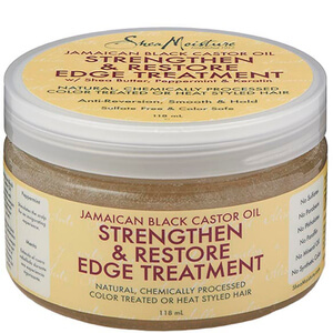 Shea Moisture Jamaican Black Castor Oil Strngthen, Grow & Repair Edge Treatment 118 ml
