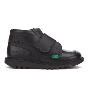 Bottines à Scratch Kickers Kick Lo Enfant - Noir