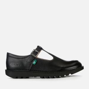 Kickers Kids' Kick T Flat Shoes - Black