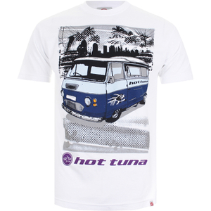 T-Shirt Homme Hot Tuna Camper -Blanc