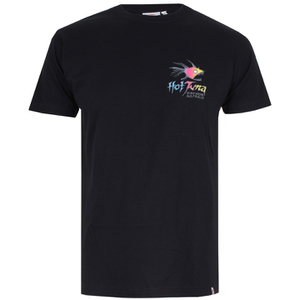 T-Shirt Hot Tuna Rainbow -Noir