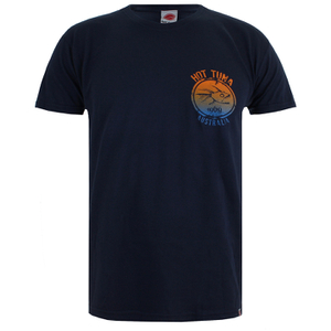 Hot Tuna Men's Colour Fish T-Shirt - French Marine