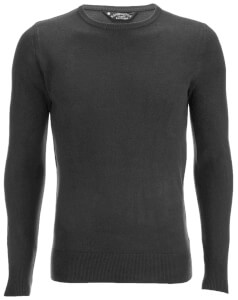 Kensington Eastside Men's Balint Crew Neck Jumper - Charcoal