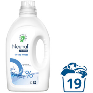 Neutral 0% White Liquid Laundry Detergent - 1425ml