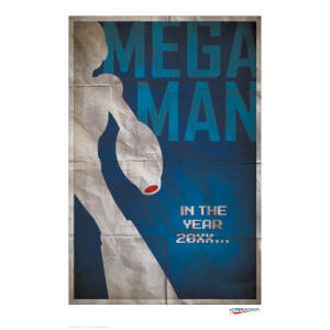 Mega Man 'Blaster' Limited Edition Giclee Art Print - Timed Sale