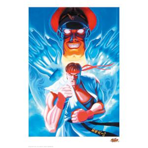 Póster Fine Art Giclée Street Fighter - Edición Limitada