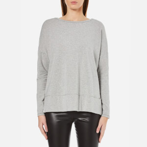 BOSS Orange Women's Tersweat Sweatshirt - Medium Grey