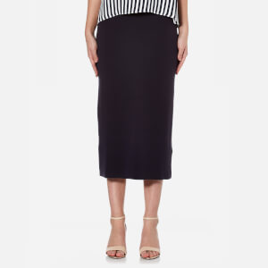 BOSS Orange Women's Leslirty Skirt - Dark Blue
