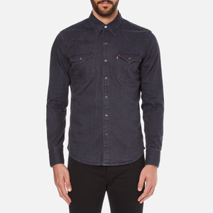 Levi's Men's Barstow Western Shirt - Inky Blue