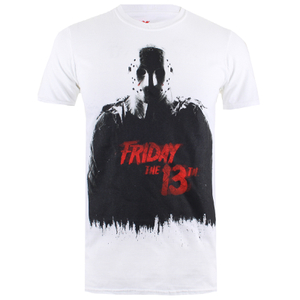 Friday the 13th Mens Jason T-Shirt - Wit